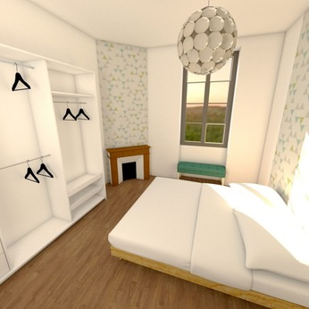 Home staging Chambre Auch
